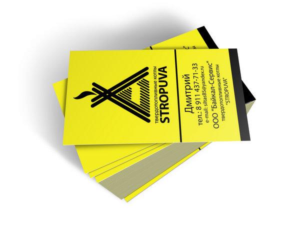 визитная карточка твердотопливные котлы Stropuva.