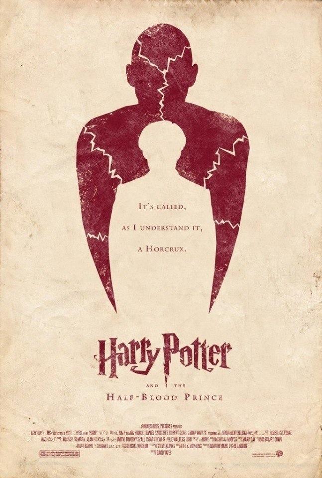 """Постеры к фильмам """"Гарри Поттер"""""""